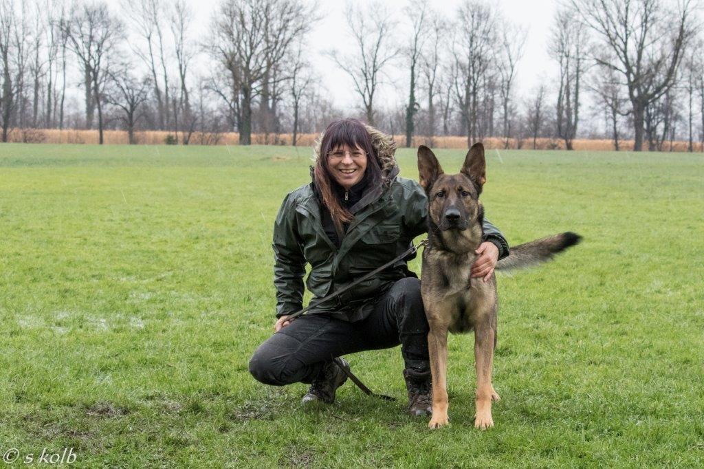 Baracus wünscht alles Gute als frisch gebackener IPO 1 Hund