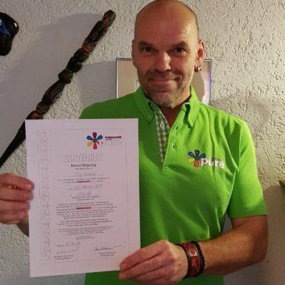 Jörg Hannig, qualifiziert und Mitglied für Biokybernetik nach Dr.Ing.Jan Gerhard Smit